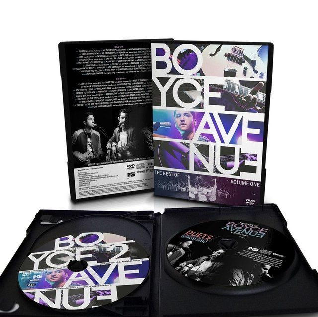 Boyce Avenue - 2-DVD + Bonus CD Set The Best Of, Vol. 1 - tienda online