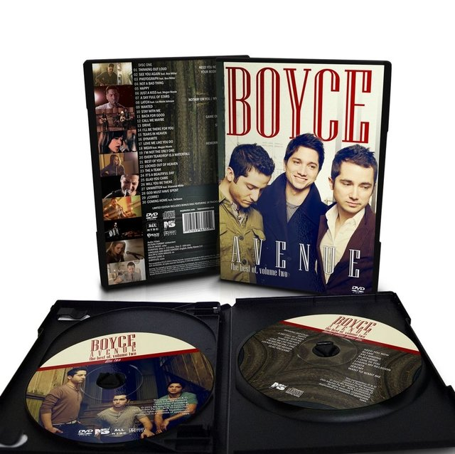Boyce Avenue - DVD duplo + CD bônus The Best of, Vol. 2 - loja online