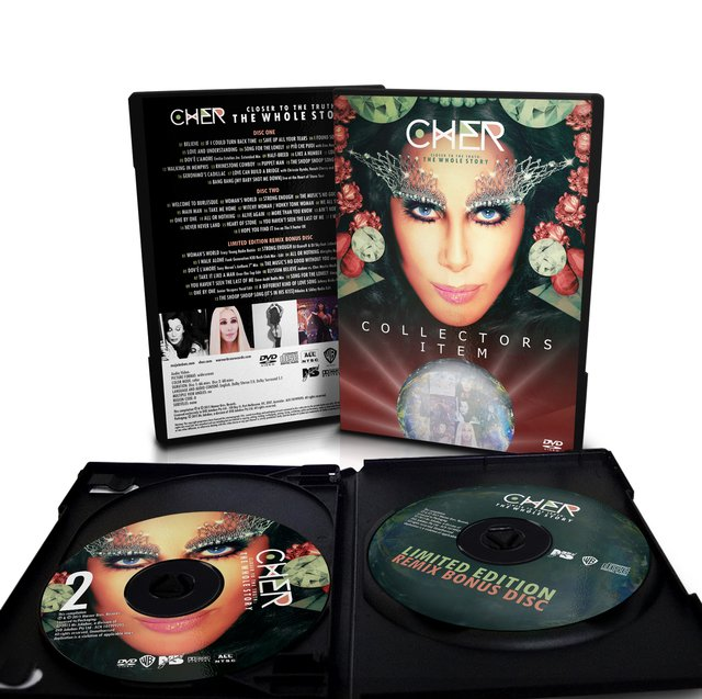 Cher - 2-DVD + Bonus CD Set Closer to the Truth: The Whole Story - tienda online
