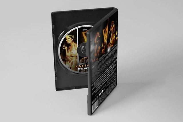 Capa DVD + CD Cher - A Celebration at Caesars