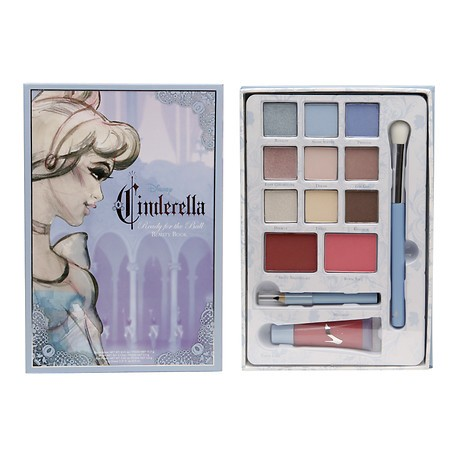 Disney Cinderella Ready for the Ball Beauty Book Paleta de Sombra