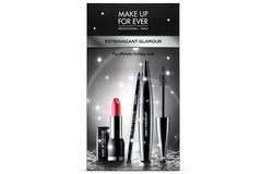Make Up For Ever Extravagant Glamour Kit Batom Lápis Rímel - comprar online