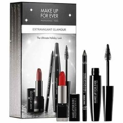 Make Up For Ever Extravagant Glamour Kit Batom Lápis Rímel
