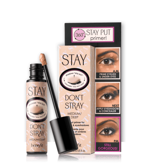 Benefit Stay Don't Stray Primer para Corretivo e Sombras