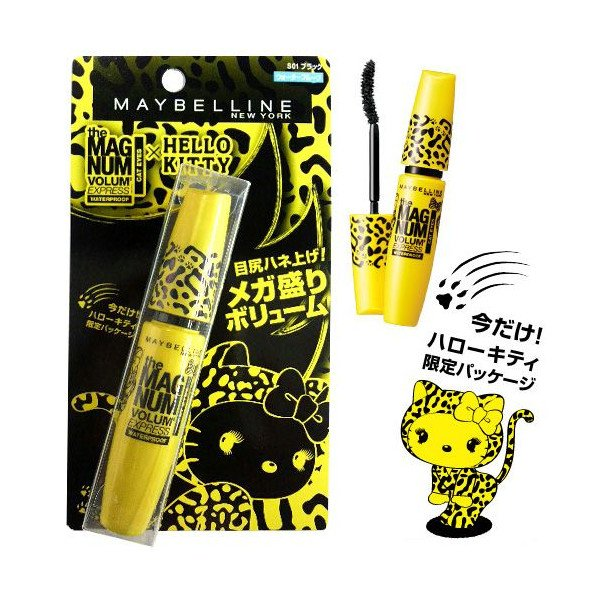 Maybelline Hello Kitty Magnum Waterproof Mascara de Cílios Rímel