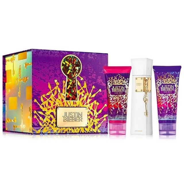 Justin Bieber Kit Perfume The Key 100ml