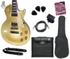 Combo Guitarra Eléctrica Les Paul Gold Top