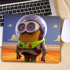 Mousepad Pequeno 18cmx22cmx3mm Minion Buzz lightyear