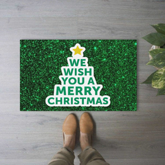 TAPETE 60x40CM - We wish you a merry Xmas