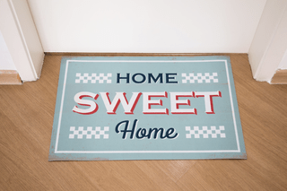 Tapete JB 60 X 40 CM - Home Sweet Home na internet