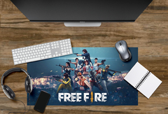 MOUSEPAD GAMER  FREE FIRE 59cmx30cmx3mm ( VARIAS ESTAMPAS)