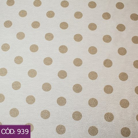Art Decor Confeti Rose – Tecido Decorativo – Largura 1,40m