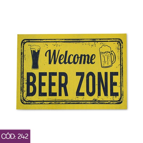Tapete JB 60 X 40 CM - Beer Zone