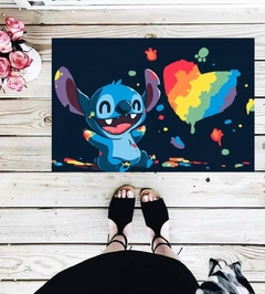 TAPETE 60x40CM - STITCH DISNEY