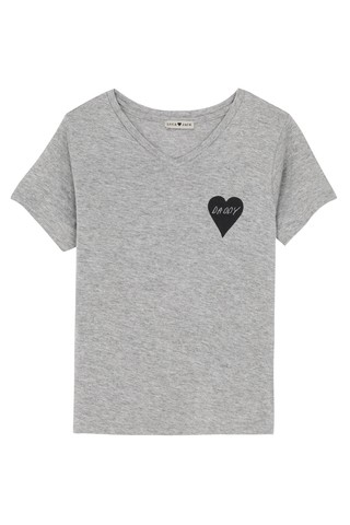 T-shirt V Kids Heart Daddy
