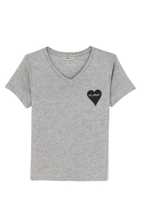 T-shirt V Kids Heart Mommy