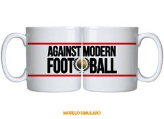 Caneca Against Modern Football (2) na internet