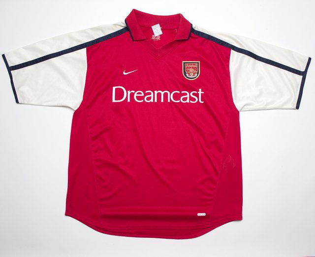 Arsenal FC 2000/2002 Home