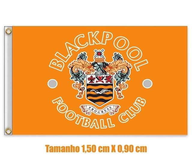 Bandeira Blackpool Football Club