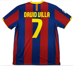 Barcelona 2010/2011 home (David Villa) Nike (GG)