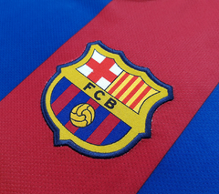 Imagem do Barcelona 2010/2011 home (David Villa) Nike (GG)