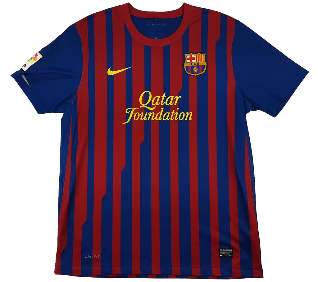 Barcelona 2011 2012 Home Nike G Atrox Casual Club