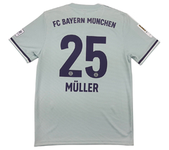 Bayern De Munique 2018/2019 Away (Müller) (M) - comprar online