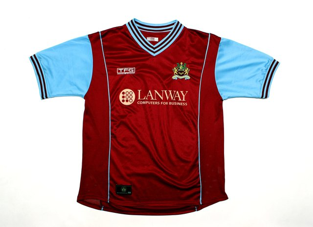 Burnley FC 2003/2004 Home