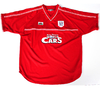 Cardiff City 2001/2002 Away Xara (GG)