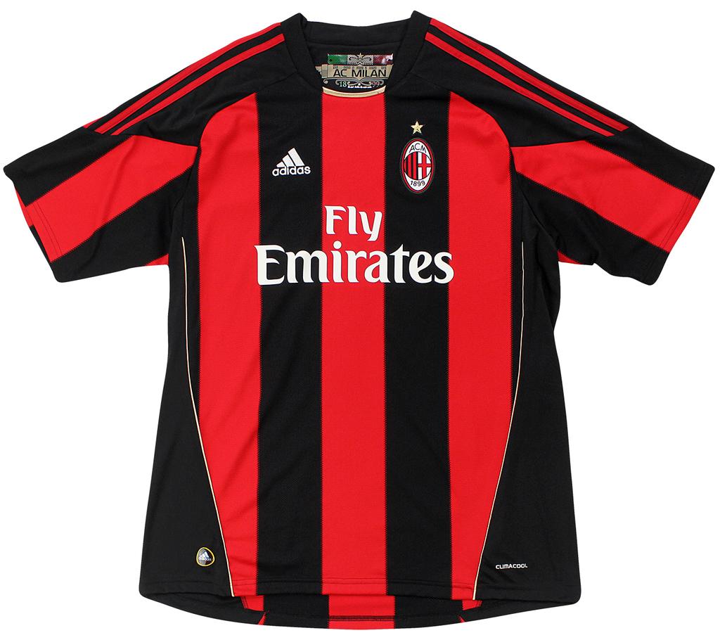 Milan 2010 2011 Home Adidas Gg Atrox Casual Club