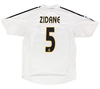 Real Madrid  2004/2005  Home (Zidane) adidas (G)