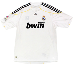Real Madrid 2009/2010 Home (Raul) adidas (GG) - comprar online