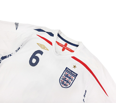 Inglaterra 2007/2009 Home (Terry) Umbro (G) na internet