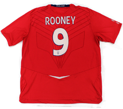 Inglaterra 2008/2010 Away (Rooney) Umbro (GGG)