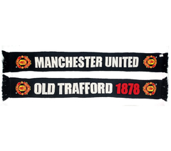 "Cachecol Manchester United ""Old Trafford 1878"" na internet"