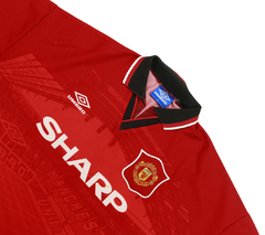 Manchester United 1994/1996 Home Umbro (GG) na internet