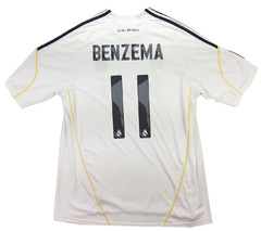 Real Madrid 2009/2010 Home (Benzema) adidas (GG)