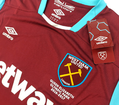Imagem do West Ham United 2016/2017 Home Umbro (GG)