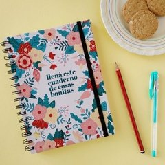 Cuaderno Flower Power