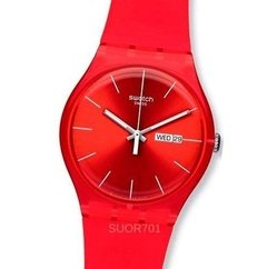 Swatch Suor701 - Red Rebel