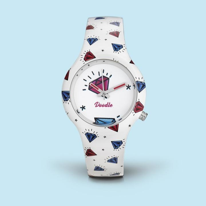 Reloj Diamantes Dama Doodle Watch Do35003 DHW2E9IY