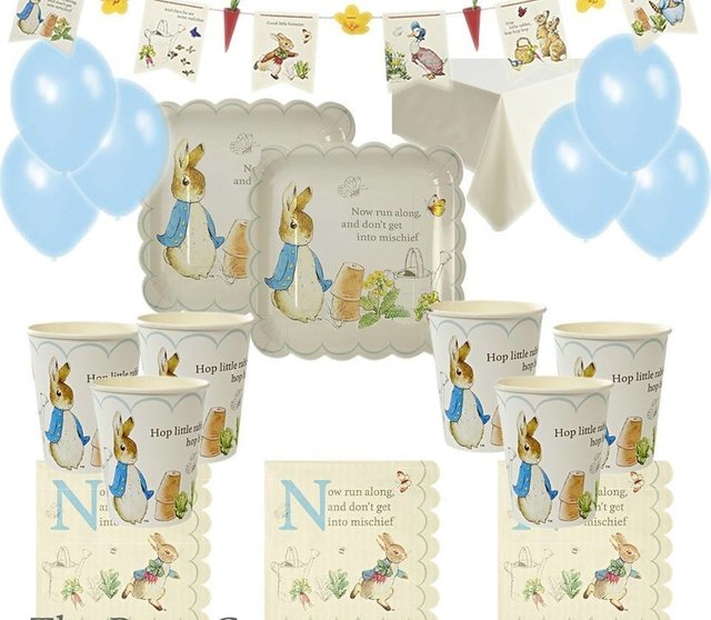 PLATOS PETER RABBIT GRANDES   PACK X 12 - comprar online