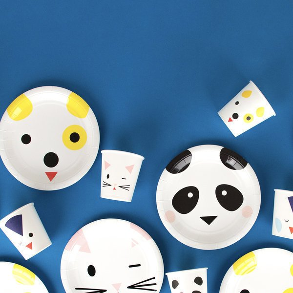 VASOS MINI ANIMALS  X 8 - comprar online