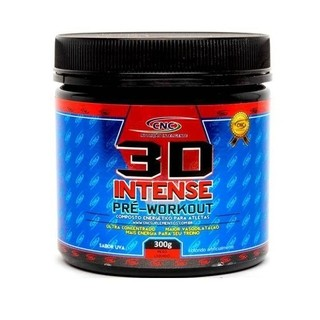 3D Intense Pré-Workout (300g) - CNC