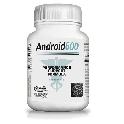 Android 600 (60 cápsulas) - Power Supplements