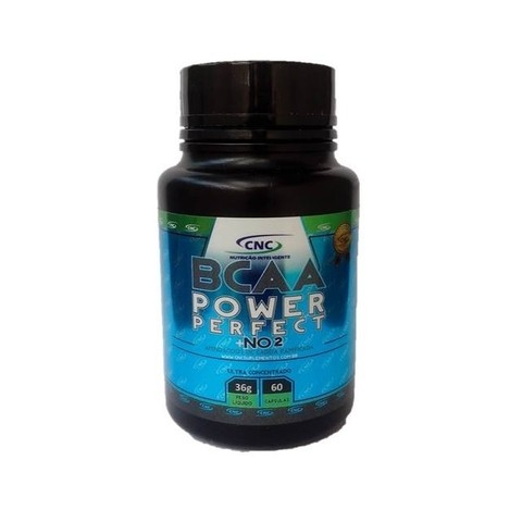 BCAA Power Perfect + NO2 (60 cápsulas) - CNC