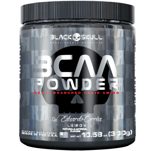 BCAA Powder (300g) -– Black Skull
