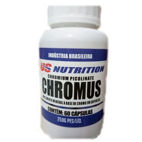 Chromus (60 cápsulas) - US Nutrition