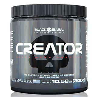 Creator Creatina Black Skull