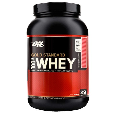 100% Whey Gold Standard (909g) - Optimum Nutrition
